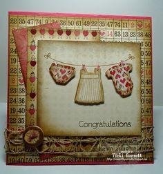 Vicki G Stamps: Impression Obsession Designer Challenge-You Did it!