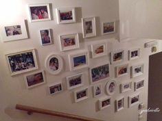 Gallery wall#τοίχος με φωτογραφίες