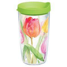 Tervis Tea for Tulips Tumbler (16 oz), Clear