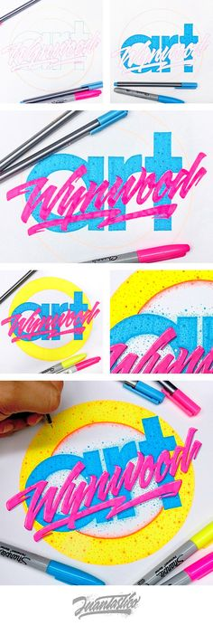 Typography Illustrations on Behance Typography Drawing, Typography Love, Graffiti Lettering, Typography Letters, Typography Inspiration, Graphic Design Typography, Graphic Design Illustration, Graphic Design Lessons, Graphic Design Tools