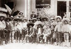 Emiliano Zapata and his men.