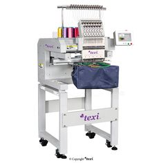 Texi 1501 TS Premium - Industrial, one-head, fifteen-needle embroidery machine. #texisewing #sewingmachine #industrial