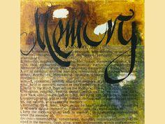 Memory   ...   Acryl auf Leinwand   ...   15 x 15 cm