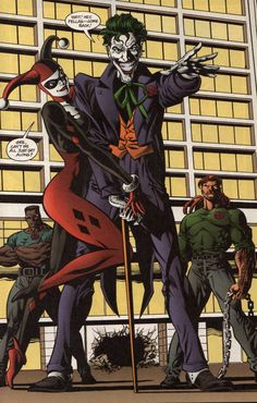 Harley Quinn & the Joker in Batman Vol 1 # 570 - Art by Mike Deodato, David Roach, & Pam Rambo