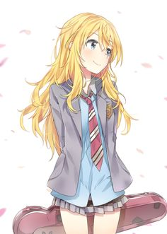 Kaori! She's really cute. (Your Lie In April)