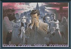 Dr Who Cross Stitch Pattern by PhotoCrossStitch on Etsy, $10.00