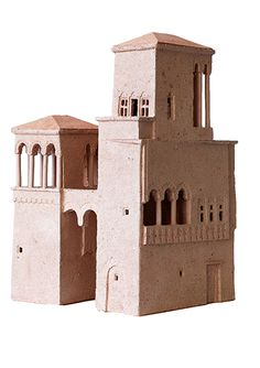 Clay Houses, Ceramic Houses, History Medieval, Medieval Times, Ancient History, Minecraft Underground, Ancient Aliens, Ancient Egypt, Cardboard Castle