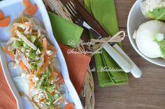 Cucina Scacciapensieri: Insalata di pollo con finocchi, carote e briciole di cavolfiore