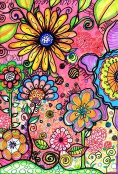 Find the snoopys art journal inspiration, doodle flowers, flower doodles, tangle doodle, Doodle Drawings, Doodle Art, Tangle Doodle, Doodle Canvas, Doodle Ideas, Art Journal Pages, Art Journals, Graffiti Kunst, Decoupage