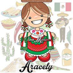 BANCO DE IMAGENES GRATIS: Nuevas muñequitas mexicanas con nombres de mujeres y…