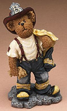boyds bears   Cuddly Collectibles - Boyds Bearstones Teddy Bear Figurines All In A ...