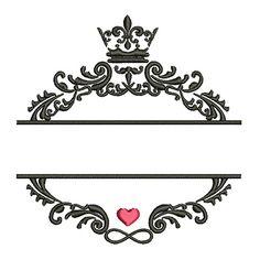 MONOGRAMA DE CASAMENTO 2 Slogan Design, Happy Birthday Cake Topper, Silhouette Curio, House Of Beauty, Fancy Fonts, Foto Art, Arte Floral, Diy Stickers, Vintage Labels