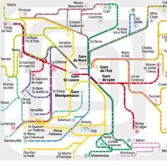 Itinéraires - Vianavigo, vos transports sur Paris et l'Ile-de-France : OPTILE, RATP, SNCF: Train RER métro tramway bus