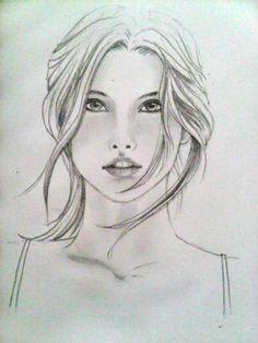 Pencil sketch 071013@Novianny Widya