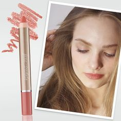 PlayOn Lip Crayon in Yummy is a sheer, peach shade perfect for a pretty office makeup look or the weekend.