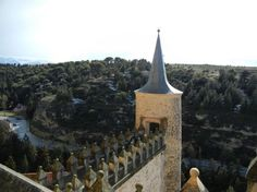- View from top of Alcazar, Segovia: Photo of Avila and Segovia Day Trip from Madrid by Viator user Kate H House In Nature, Day Trip, Madrid, Houses, Top, Homes, House, Computer Case, Crop Shirt