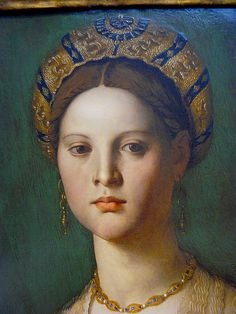 Bronzino - A young woman and her little son, detail (~1540) #TuscanyAgriturismoGiratola