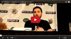 Little Girl Wants to Know How to Deal with Being Called a Nerd, Wil Wheaton Responds [Video]
