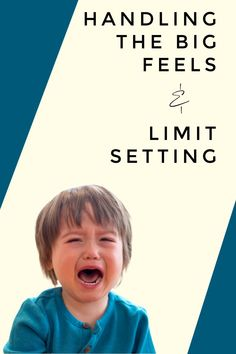 In this Montessori parenting podcast, we discuss big feelings and how to respond to them while still effectively setting limits in your home. Montessori Toddler, Montessori Toys, Toddler Preschool, Teaching Courses, Parenting Articles, Montessori Materials, Feelings And Emotions, Kids Learning, Homeschool