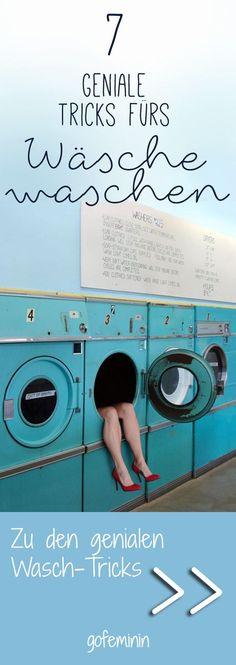 Diese Waschmaschinen-Hacks müsst ihr kennen!