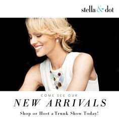 Hostess Bonus Days through the end of August.   www.stelladot.com/jewelswithjenny
