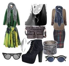 see in the morning fog by n099ck31 on Polyvore featuring polyvore fashion style Phase Eight Vanessa Gounden Speed Limit 98 Lee Brennan Design Nadine S Toast Designers Remix Matsuda Illesteva clothing myvision