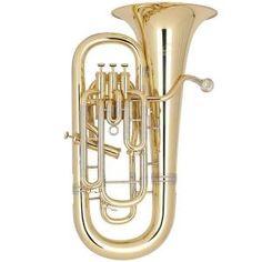 Эуфониум Bb Miraphone 1255L Yellow Brass