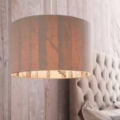Drum lampshade handmade from the iconic Cole & amp | Not on the High Steet