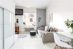 Zdjęcie numer 1 w galerii - Małe mieszkanie w skandynawskim stylu - 25 m kw.