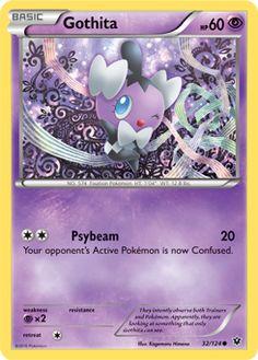 Gothita | Basic | Psychic | NO. 574 Fixation Pokemon | 32/124