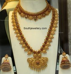 Traditional Kasu Necklace and Haram set
