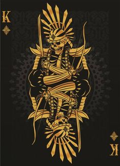 King of Diamonds (playing cards) by Tortoise-design.deviantart.com on @deviantART