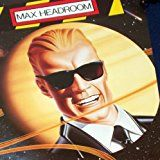 Get This Special Offer #8: MINT! Max Headroom 1986 Coke Poster c-c-c-c-Catch the Wave