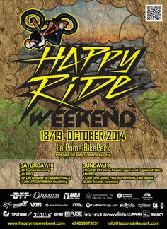 Todo lo que debes saber del Happy Ride Weekend 2014 | Trickon