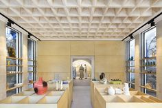 The Flat Stone Vault, a Pioneering Interlocking Stone Ceiling - HKZ| MENA design magazine