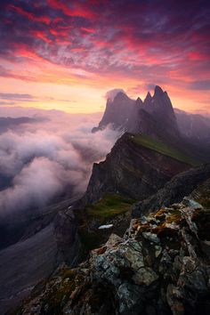 Val de Gardena, Dolomites by James Appleton on 500px○ Canon EOS 5D Mark III-f/14-1s-35mm-iso100, 600✱900px-rating:99.8☀ Photographer: James Appleton