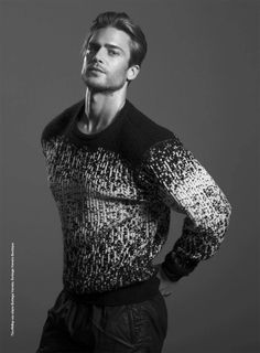 Jason Morgan photographed by Victor Santiago and styled by Giorgio Ammirabile, for the latest coverstory of L'Officiel Hommes Hellas.