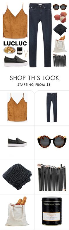 """""""Just Leave Me And My Tick Tock"""" by wi-fi-li-fe ❤ liked on Polyvore featuring Zara and Williams-Sonoma"""