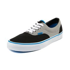 Vans Era Skate Shoe in Black Gray Blue at Journeys Shoes. Available only online at Journeys.com!