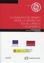 Se es membro da Universidade de Vigo podes solicitalo a través desta páxina http://www.biblioteca.uvigo.es/biblioteca_gl/servizos/coleccions/adquisicions/  La igualdad de género desde la perspectiva social, jurídica y económica. - Teresa Martín López, José Manuel Velasco Retamosa, coordinadores. - Aranzadi, 2014. 55,95€