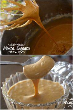 GANACHE DE DOCE DE LEITE Perfeita, para  rechear  bombons, cobrir ou rechear bolos, cupcakes, tortas, pavês éclairs, compor panetones ou montar uma mousse
