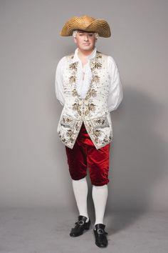Les Noces de Figaro - Opéra National de Paris - Ludovic Tézier as Il Conte di Almaviva - Costume design: Ezio Frigerio - Embroidery: www.sjolanderembroidery.com