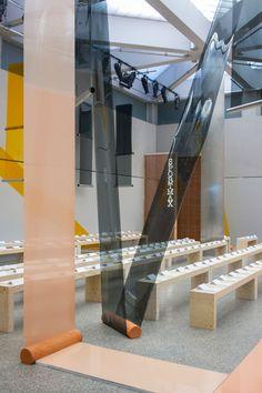 Formafantasma uses terracotta and PVC for Sportmax catwalk