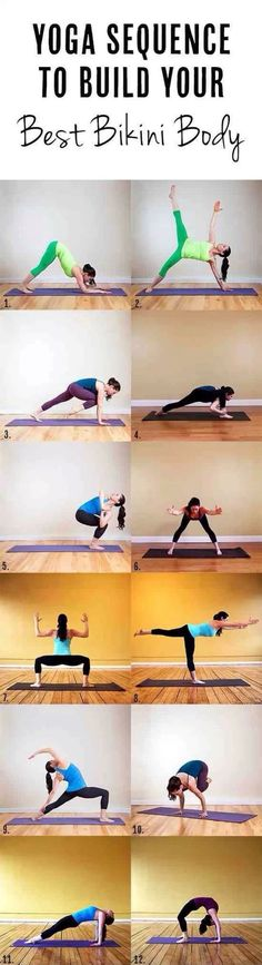 ✨Yoga Sequence: To Build Your Best Bikini Body✨!!! #Health #Fitness #Trusper #Tip
