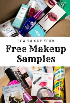 Try makeup samples for free before you buy! We have samples from Sephora, MAC, Clinique, Kylie, Urba Free Beauty Samples, Free Makeup Samples, Free Samples, Mac Samples, Mac Makeup, Makeup Tips, Beauty Makeup, Makeup Products, Makeup Stuff
