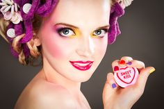 Food Inspired Make-up & Hair Designs by Karla Powell, via Behance #WinWayneGossTheCollection