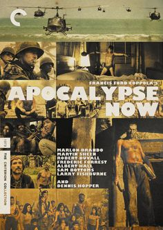 """Criterion Cover for Francis Ford Coppola's """"Apocalypse Now"""""""