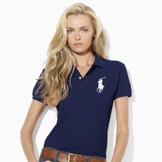 Discover women\u0026#39;s polo shirts, blouses and tops for spring and summer at the official site of Ralph Lauren. Classic-Fit Big Pony ...