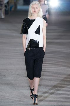 Anthony Vaccarello Spring 2015 RTW – Runway – Vogue