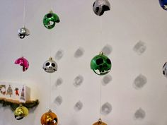 Vanidad: A Series of Skulls Carved from Christmas Ornaments by Rafael Diaz | Junkculture